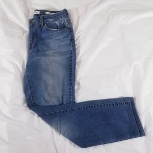Jessica Simpson uptown high rise jeans